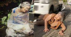 大家看到這些照片時「本以為阿嬤被虐待」,但在知道照片是「自己設計」拍之後就當場笑了!