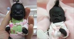 直擊世界上最黑的嬰兒,如今已經長大變這樣,網友:晚上自帶隱身功能!